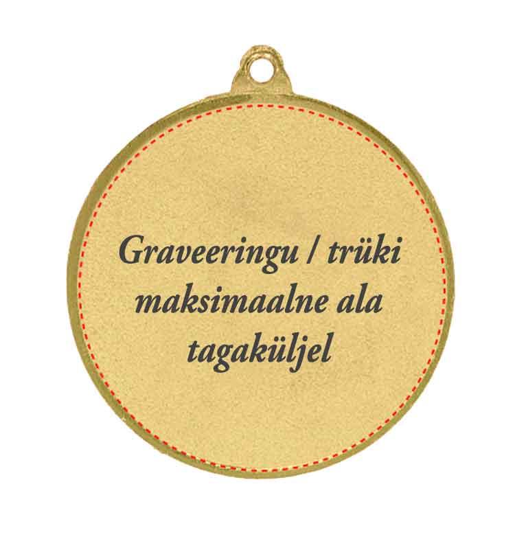medal graveering graveerimine