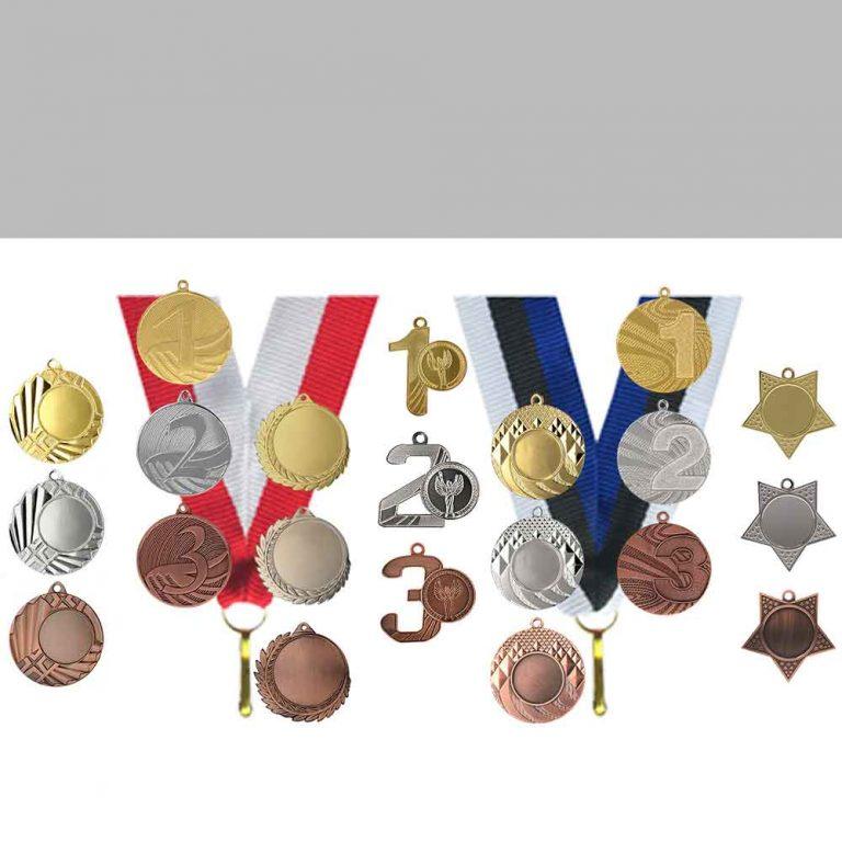 Medalite lisad